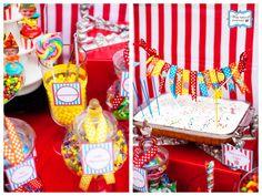 Kara's Party Ideas Circus Time Birthday Party! | Kara's Party Ideas
