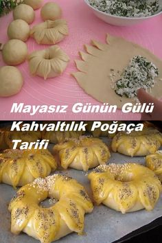 Bread Recipes, Cookie Recipes, Turkish Recipes, Iftar, Food And Drink, Homemade, Cooking, Breakfast, Baguette