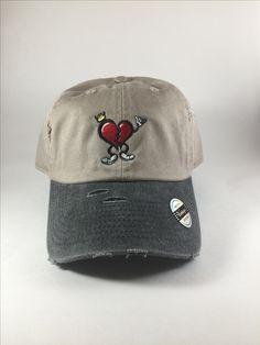 Khaki/Stone HeartBreakerClo Dad Hat  www.heartbreakerclo.com shop now !