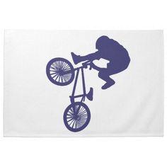BMX Biker Towel