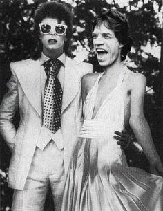 Bowie + Jagger