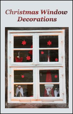 The right Christmas Window Decorations can really set off the rest of your Christmas decorations and make your home the one that everyone has to see.