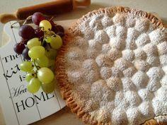Impastastorie: Crostata con uva e ricotta al profumo di cannella - I'll be home for Christmas