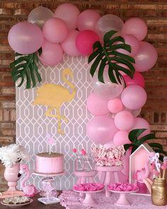 """3,414 curtidas, 20 comentários - Festejando em Casa by Monalisa (@festejandoemcasaoficial) no Instagram: """"Linda inspiração para uma #miniparty com tema #flamingo Regrann from @atelie.eraoquefaltava…"""""""