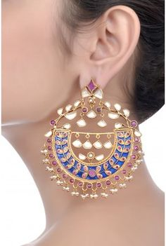 Indian bridal earrings, jewelry, jewellery