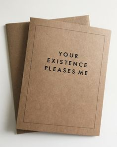 Funny Greeting Cards That Help You Convey Your Very Neutral Feelings - DesignTAXI.com