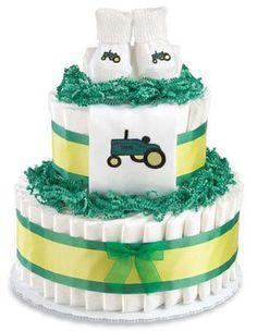 cute diaper cake - John Deere