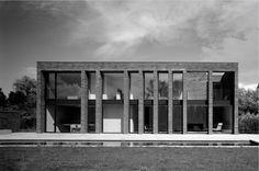 Facade - by Vincent Van Duysen Fascist Architecture, Brick Architecture, Classical Architecture, School Architecture, Residential Architecture, Contemporary Architecture, Interior Architecture, Industrial Architecture, Richard Rogers