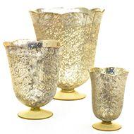 accent decor color glass gold vase options - Accent Decor