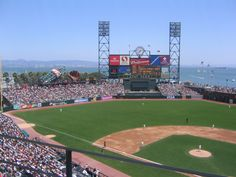 ✔ - AT Stadium, San Fran Giants, San Francisco, California
