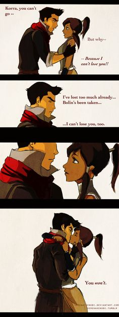 :D Sadly, I know the series just started... But I do believe Korra and Mako will get together.