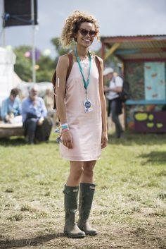 Glastonbury Festival 2015 Street Style Fashion   POPSUGAR Fashion UK