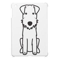 Lakeland Terrier Dog Cartoon iPad Mini Case