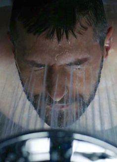 Daniel in the shower