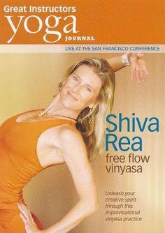 Yoga Journal: Shiva Rea - Free Flow Vinyasa [DVD]