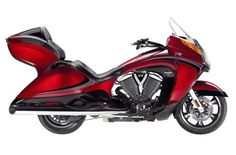 2013 Victory Motorcycles Vision® Tour - Sunset Red & Black w/ Black Carbon Graphics starting at $21,999 Northway Sports East Bethel, MN (763) 413-8988
