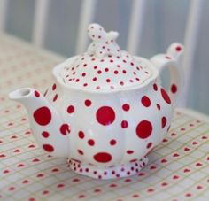 @Billie Jo Norsworthy - Lucy's Sheep Camp Jo Norsworthy Glor ~ Polka Dot Teapot