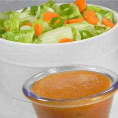 "Famous Japanese Restaurant-Style Salad Dressing | ""My picky husband went crazy for it...great recipe!"""