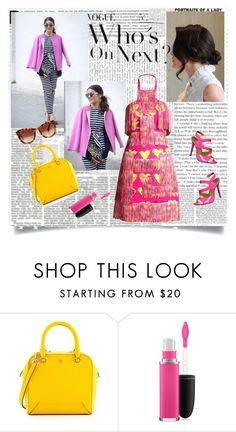 """""""Untitled #847"""" by liska1986 ❤ liked on Polyvore featuring Tory Burch and MAC Cosmetics"""