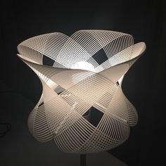 White Lamp | 3D Print : lighting . Beleuchtung . luminaires | Design: Shapeways |