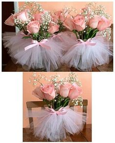 Baby Shower Centerpieces – Standout With Creative Baby Shower Decorations Ballerina Baby Showers, Ballerina Party, Baby Shower Princess, Princess Tutu, Princess Party, Baby Shower Centerpieces, Wedding Centerpieces, Wedding Decorations, Centerpiece Ideas