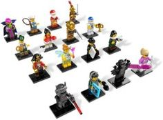 8833-17: LEGO Minifigures Series 8 - Complete