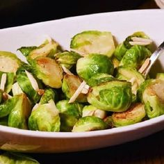 People seriously love these Brussels Sprouts! Seriously...! #brusselssprouts #fallfood #kidfriendly #ontheblog #f52grams #veggies