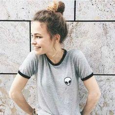 2016 t shirts women summer aline vetement femme tee shirt kawaii poleras camisas harajuku korean ropa mujer tumblr female tshirt #Discount #Popular