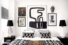 Bedroom image from Marlene Birger's new book Move and Work