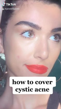 easy follow through tik tok tutorial on how to cover cystic acne #acne #cysticacne #pcos #clearskin #skin #concealer #makeuphack #beautyblog #beautytip Makeup Videos, Makeup Tips, Eye Makeup, Makeup Hacks, Study Websites, Beauty Hacks, Beauty Tips, Beauty Products, Minimalist Makeup