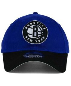 New Era Brooklyn Nets 2 Tone Shone 9TWENTY Cap - Blue Adjustable