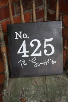 Love this house number too. This would be a good wedding gift idea.