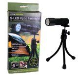 LED Flashlight - Flexible Flashlight can be Used as a Tripod Flashlight or Without Tripod by Edge home