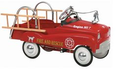 Awesome fire truck pedal car. Love the other models available too - so cute and vintage!