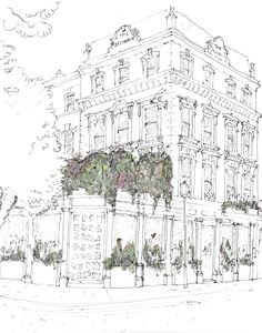 Casa Cruz London - pub with Brit/Argentinian food opening in Notting Hill in July