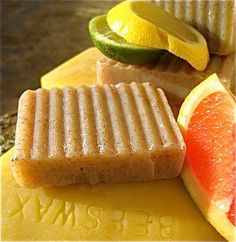 All Natural Citrus Hand Soap with Beeswax by daisycakessoap, 4.00USD