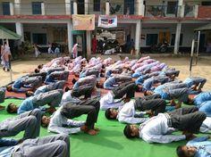 camp with blessings of yoga guru baba Ramdev World Yoga Day, Baba Ramdev, International Yoga Day, Blessings