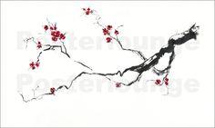 Cherry blossom Posters by Jitka Krause