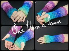 Ravelry: Wonderland Arm Warmers (Loom Knit) pattern by Once Upon A Loom