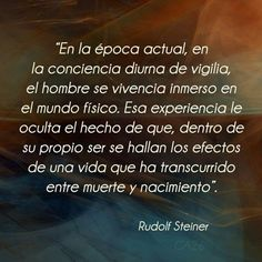 Rudolf Steiner, Schools Around The World, Around The Worlds, Waldorf Education, Mental Health, Life Coaching, Pretty Quotes, Life