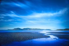 Extra large wall art Blue Poster Print by CrionnaPhotography