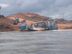 Obras da Usina de Belo Monte - Xingu