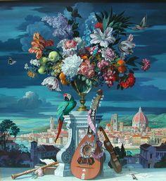 Painting by Vladimir Hozatski Russia  artodyssey1.blogs...