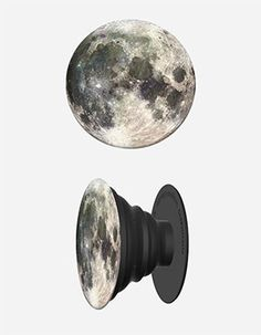 POPSOCKETS Moon Phone Stand And Grip Black
