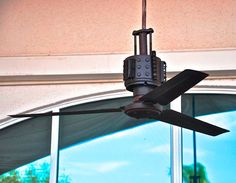 Cookie Tin Turned Into Steampunk Ceiling Fan | Apartment Therapy