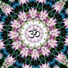 Healing Om - Mandala 2
