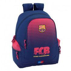 Mochila F.C. Barcelona 43 cm. grande adaptable a carro 3cec118f2ee