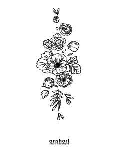 "663 curtidas, 1 comentários - Encre Mécanique Tattoo (@encremecaniquetattoo) no Instagram: ""Motif 424  Pour réserver : tattooanshort@gmail.com  #blackworkerssubmission #blacktraditionals…"""