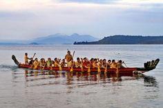 Waka on Lake Taupo -  Maori culture, heritage & history