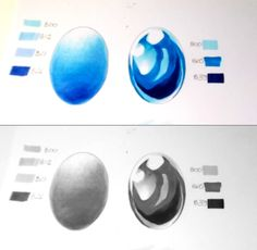 Copic Italia: Tutorial: Texture 04 - riflessi metallici